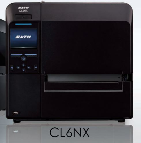 SATO CL6NX Universal Barcode Label Printer 工業萬用型條碼標籤列印機